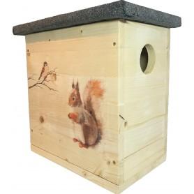 Eichhörnchenhaus Kobel